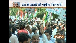CBI vs CBI: Delhi Police detains protesting Congress leaders at Dayal Singh College
