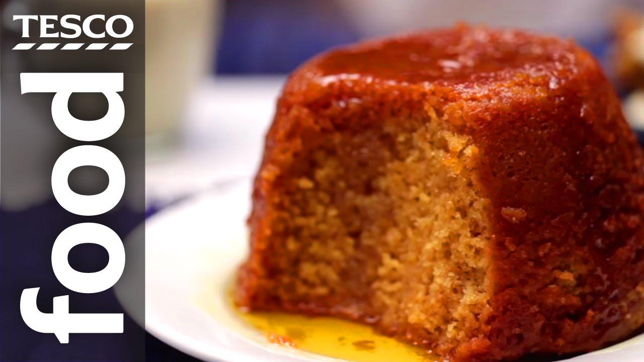 How to make sponge pudding