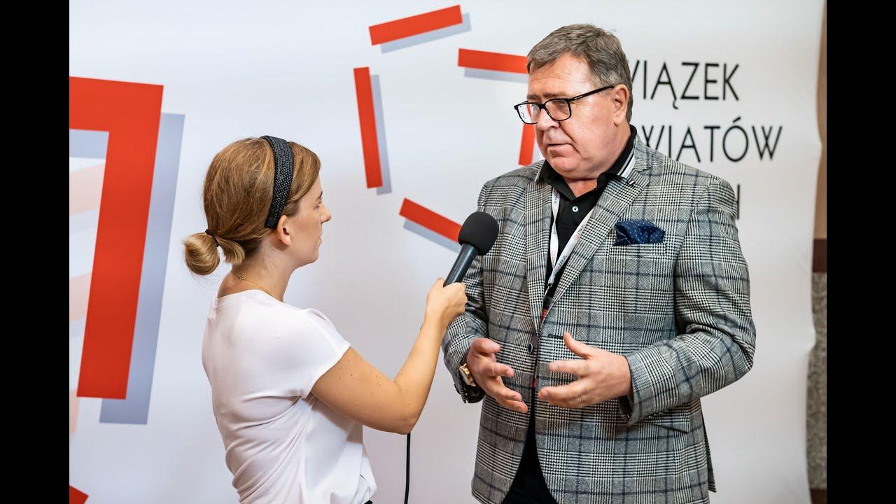 Wywiad TV z Wiceprezesem Zarządu ZPP Janem Grabkowskim podczas Zgromadzenia Ogólnego ZPP