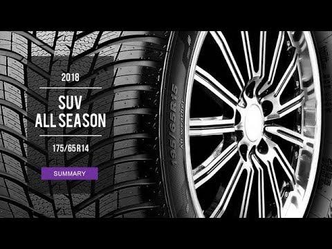 2018 All Season Tire Test Results   175/65 R14