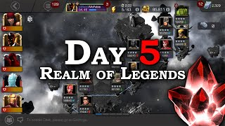 Day 5 Recap - New 5-star & Realm of Legends | Marvel Contest of Champions