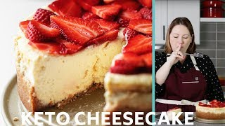 Keto Cheesecake that will make you SPEECHLESS