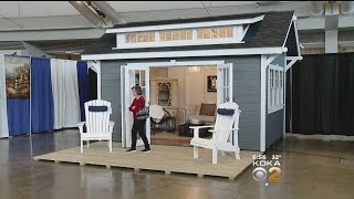 """Home And Garden Show Introduces """"She Sheds"""""""