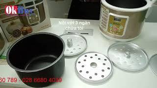 Video hướng dẫn cách làm tỏi đen nhiều nhánh tại nhà dễ dàng với nồi làm tỏi đen Nikio NK-688