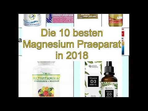 Die 10 besten Magnesium Praeparat in 2018