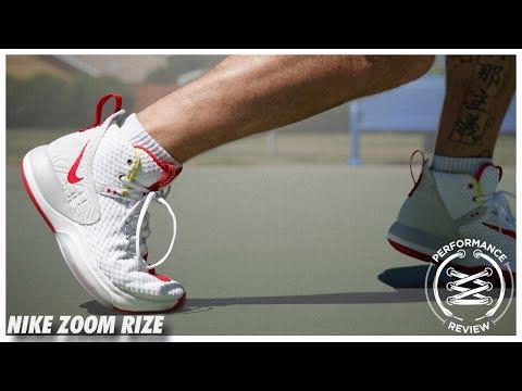 Nike Zoom Rize TB BlackWhite