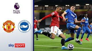 ManUnited dreht Pausenrückstand | Manchester United - Brighton & Hove Albion 2:1 | Highlights