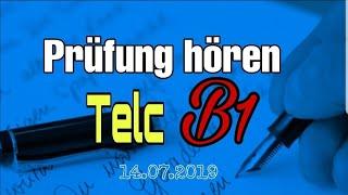 Prüfung hören Telc B1 👍🤗🤙