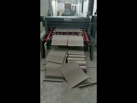 Paper Roll To Sheet Cutting Machines