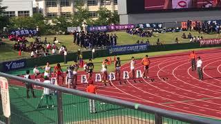 【日本初の9秒台!桐生祥秀選手の走りを分析!】前半の走りに注目!