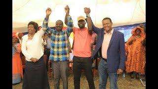 Mutua, Raila in Kibra by-election deal - VIDEO