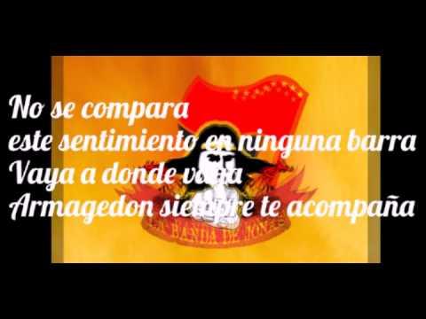 """Vamos, vamos, vamos Orientales"" Barra: Armagedón • Club: Aucas"