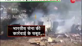 Watch: Visuals of attack at terror camps inside PoK's Neelum valley
