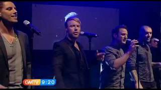 Boyzone perform Gave It All Away on GMTV with Lorraine on 18.2.10