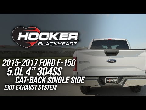 2015-17 Ford F-150 5.0L V8 Stainless Steel Cat-Back Single Side Exit Exhaust System