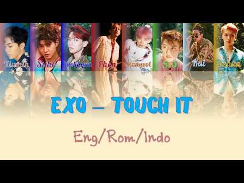 Exo - Touch It [ENG|ROM|INDO] (Sub Indo) Color Coded Lyrics