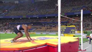 Daegu World Championship 2011- Ashton Eaton High Jump and 400m