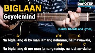 Biglaan - 6cyclemind (Guitar Tutorial with Chords and Lyrics)