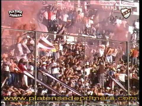"""""""Platense, La banda mas fiel del futbol Argentino"""" Barra: La Banda Más Fiel • Club: Atlético Platense"""
