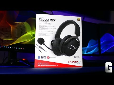 First Look! : HyperX Cloud Mix Bluetooth and Wired Headset – Review