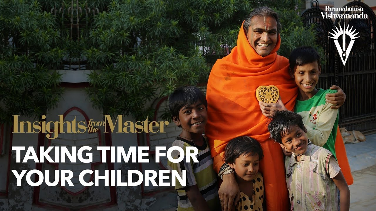 Taking Time for Your Children | Insights from the Master