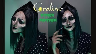 Coraline's Other Mother Makeup Tutorial   @rebeccaseals