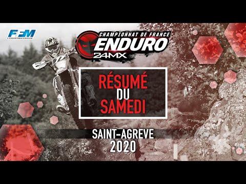 CDF enduro 2020 Saint-Agrève - J1