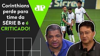'Olha a folha salarial do Corinthians! É inconcebível essa má vontade'; veja debate
