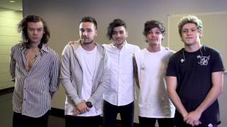 One Direction, One Direction's new message for fans in South-East Asia.
