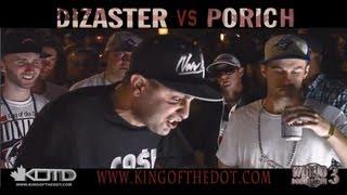 KOTD - Rap Battle - Dizaster vs poRICH (Title Match)