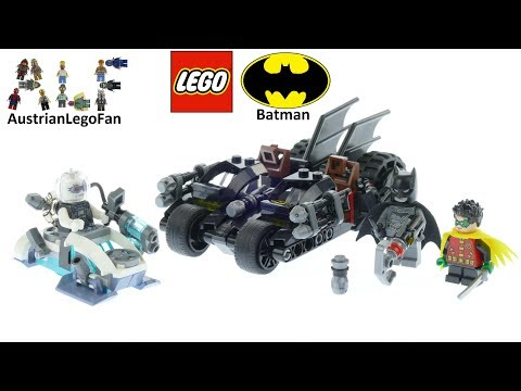 Vidéo LEGO DC Comics Super Heroes 76118 : Mr. Freeze contre le Batcycle