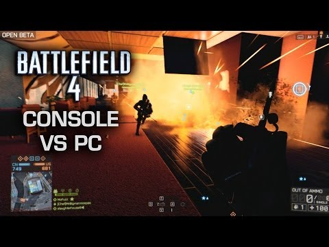 Battlefield 4 : PC vs console