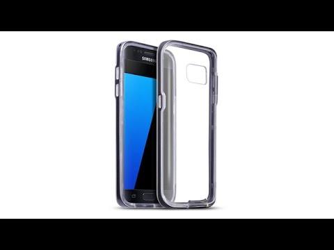 Samsung Galaxy S7 Schutzhülle TPU Hülle + PC Bumper - Schwarz