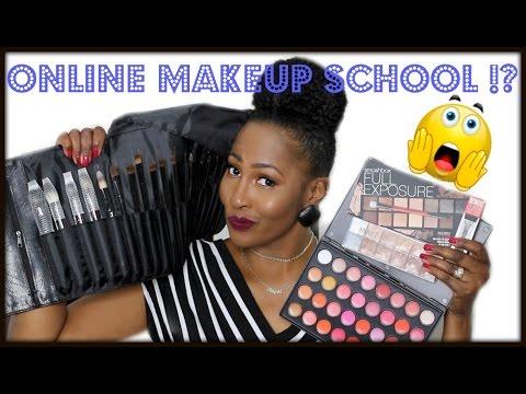 Online Makeup School⎮My Experience⎮Makeup Kit For Beginners