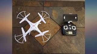 Cheerwing Syma X5SW-V3 WiFi FPV Drone 2.4Ghz 4CH 6-Axis Gyro RC Quadcopter Drone review