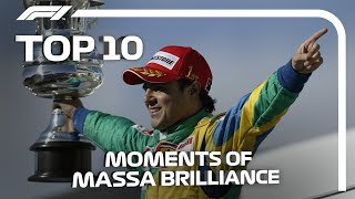 Top 10 Moments Of Felipe Massa Brilliance