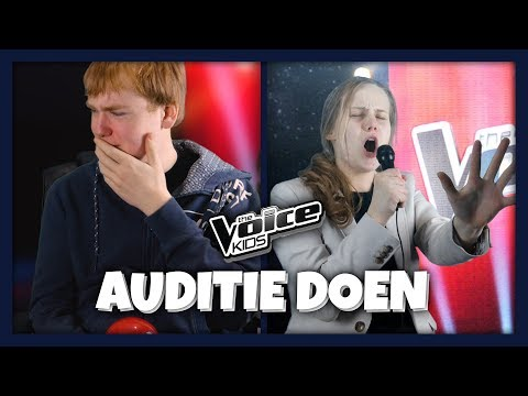 Auditie voor the voice kids (Tutorial)
