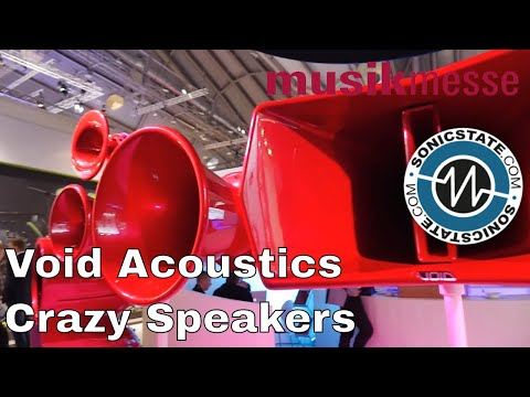 MESSE 2018: Void Acoustics – Amazing Looking Speakers