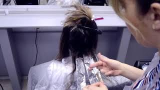 Сложные техники окрашивания волос обучение для парикмахеров колористов МК от НК(2)