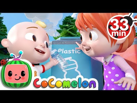The Clean Up Trash Song | +More Nursery Rhymes & Kids Songs - CoCoMelon