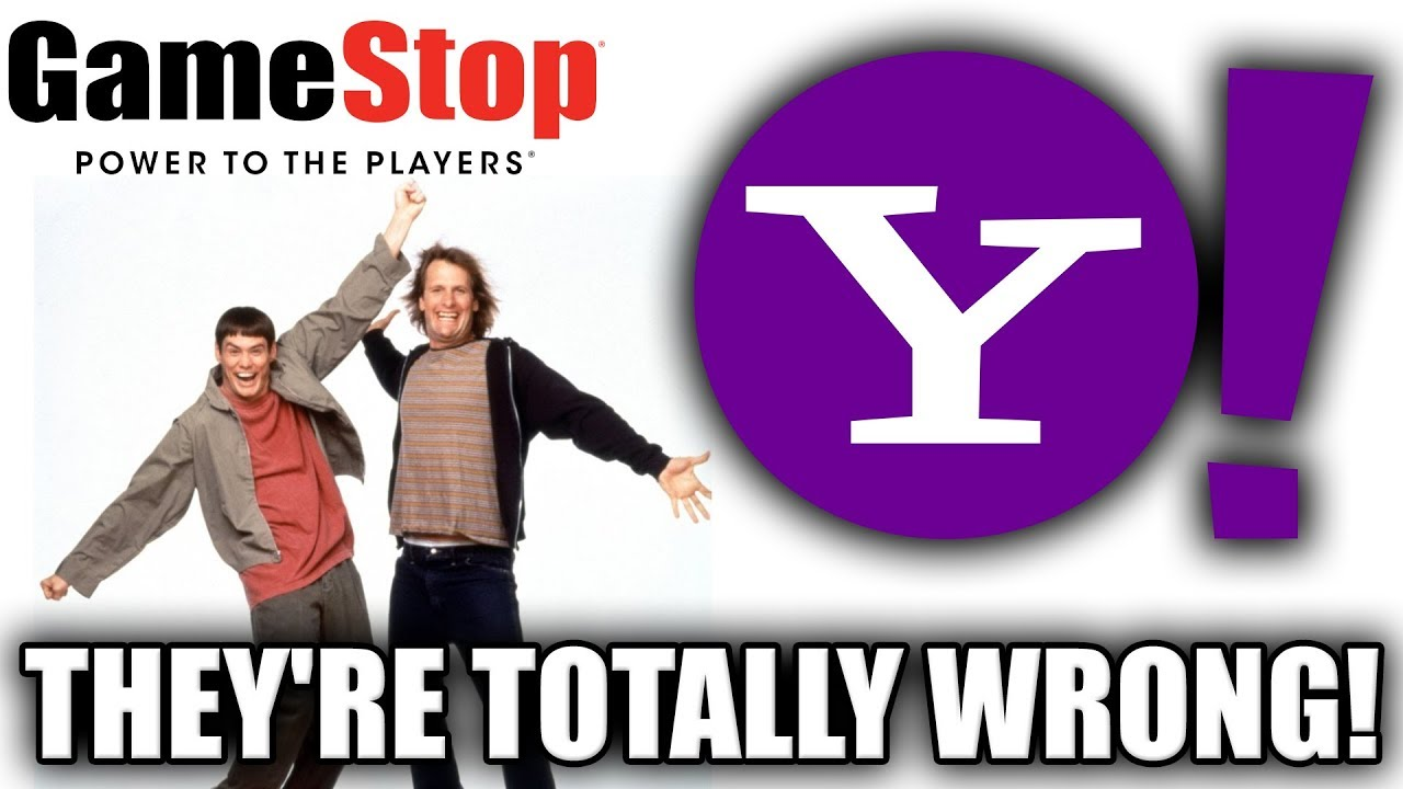 GameStop Can't Be Conserved. Do Not Listen To Yahoo Financing ... thumbnail