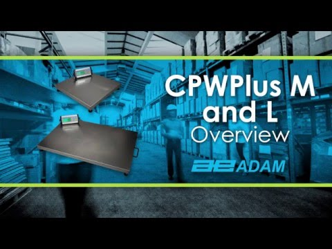 CPWplus Weighing Scale: M and L Series Tutorial