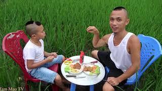 Nầm Nướng - Mao Đệ Làm Đổ Cả Mâm Xuống Ruộng Vì Ăn Uống Kiểu Tây Đu Bai