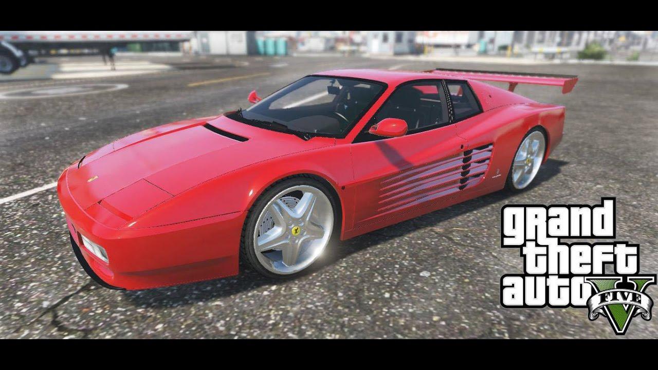 Ferrari testarossa 512 1991 add on gta5 mods vanachro Images