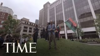 Go Inside a Republican Convention Protest | 360 Video | TIME