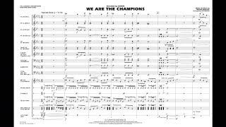 We Are the Champions by Freddie Mercury/arr. Tim Waters