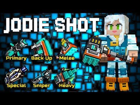 Jodie Shot Set - Pixel Gun 3D