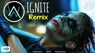 Joker - Alan walker IGNITE Song_Remix   Joker Song   Heathledger   Dark Knight  Ft. Alanwalker