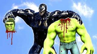 Venom VS Hulk Epic Battle   Grand Theft Auto V