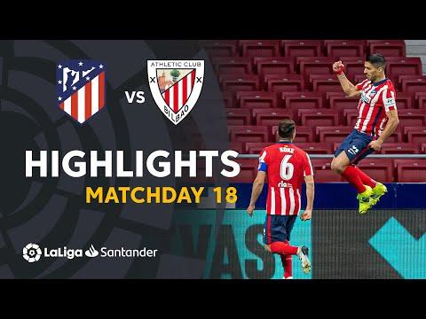 Highlights I Atlético Madrid 2-1 Athletic Club I LaLiga Matchday 18